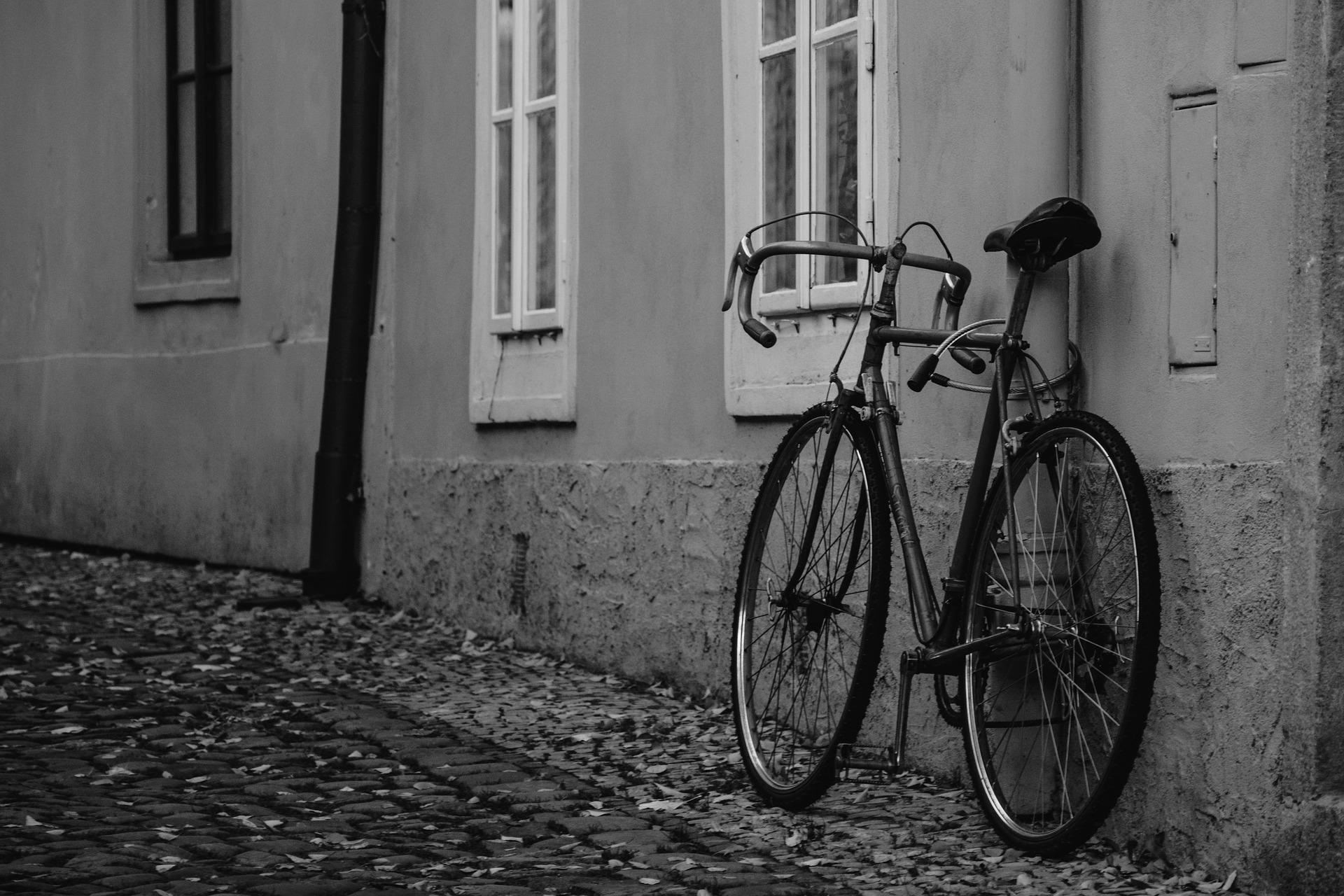 Bicycle in Prague