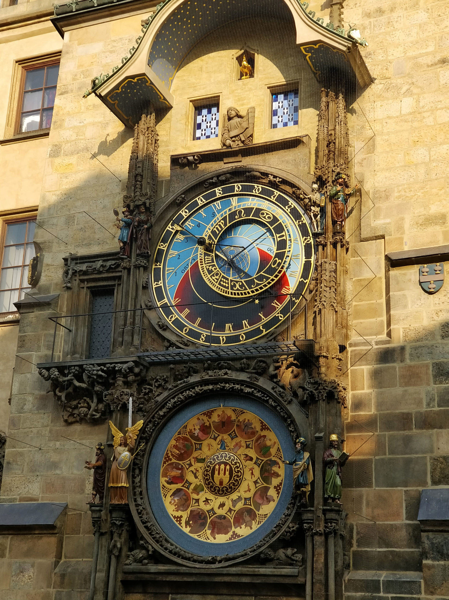The whole clock after its restoration in 2018