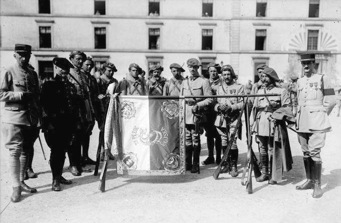 Czechoslovak Legions in France
