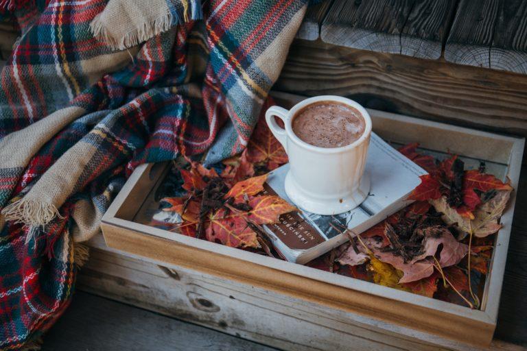 Hot Chocolate in autumn