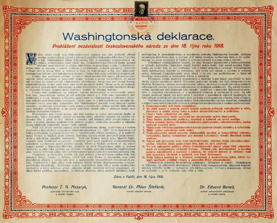 Washington Declaration