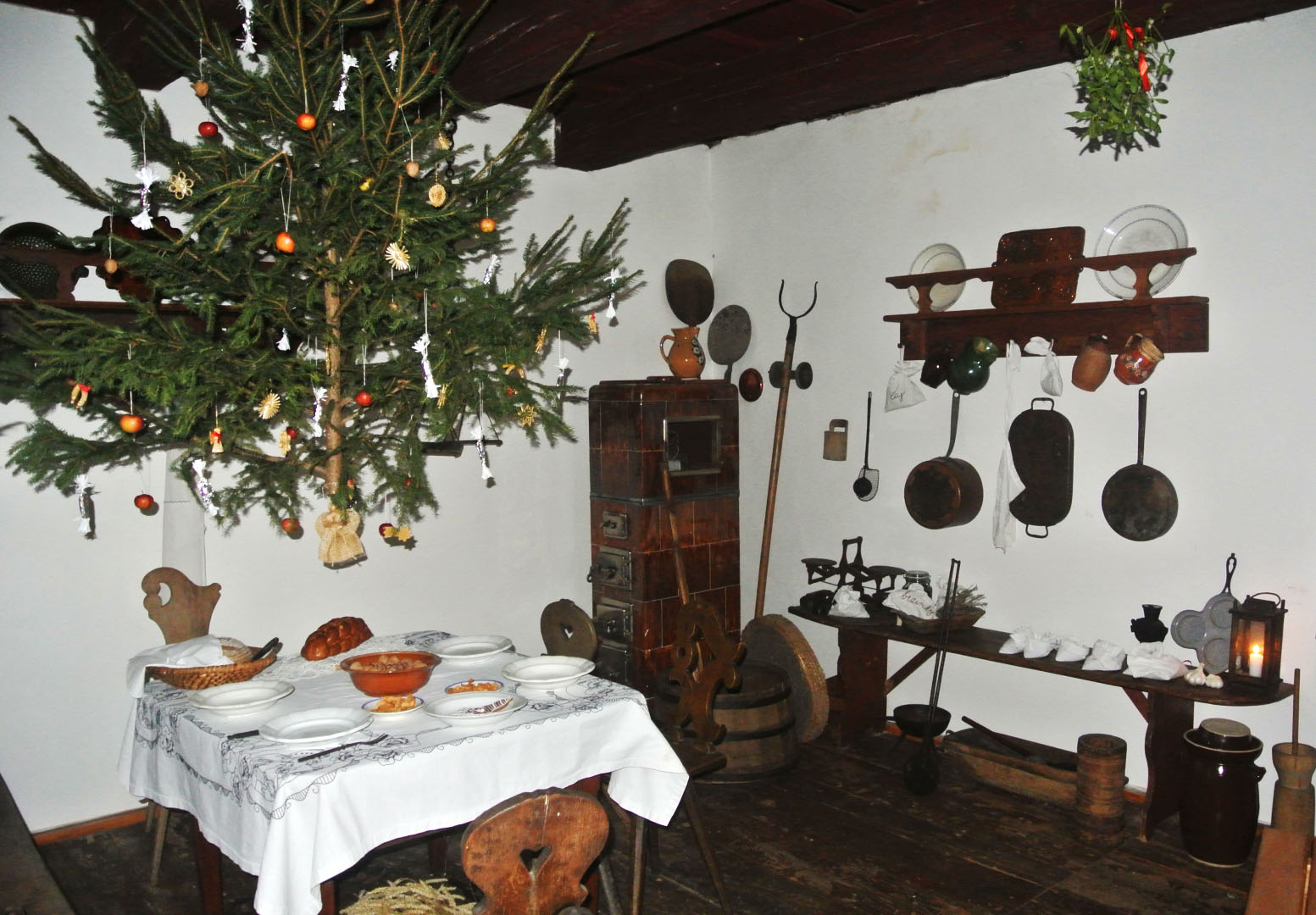 Recreation of Christmas in Homestead